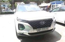 Hyundai SantaFe 2019 ra biển ngũ quý 7 tại Hà Nội