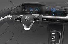 Volkswagen Golf 2020 nhá hàng thiết kế nội thất