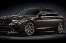 BMW M5 2020 trang trí vàng mừng sinh nhật giá 3,02 tỷ