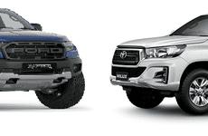 Xếp hạng xe bán tải ăn khách nhất tháng 4/2019: Ford Ranger vẫn dẫn đầu