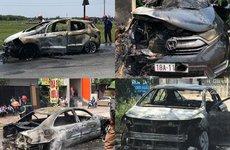 Liên hoàn xe hơi phát nổ: Phòng cháy hơn chữa cháy!