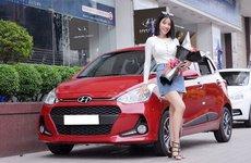 Đứng đầu thị trường, Hyundai Grand i10 tiếp tục giữ vững vị trí đầu phân khúc hạng A