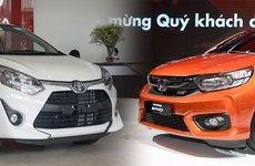 So sánh nhanh Honda Brio và Toyota Wigo