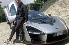 Cristiano Ronaldo tậu siêu xe McLaren Senna hàng hiếm chỉ 500 chiếc mừng vô địch Serie A