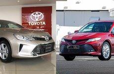 So sánh thông số kỹ thuật xe Toyota Camry 2018 và 2019