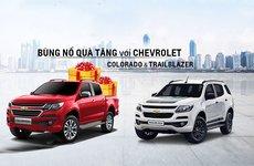 Chevrolet Corolado và Trailblazer tiếp tục duy trì ưu đãi 100 triệu trong tháng 6 và 7