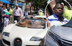 Bugatti Veyron trị giá hơn 40 tỷ đồng gặp 'sao quả tạ' chỉ vài phút cùng chủ mới rời đại lý
