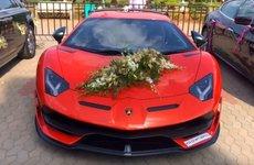 Ngắm dàn xe hoa toàn siêu xe cực đỉnh tại một đám cưới ở Ấn Độ