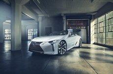 Lexus LC 2020 Convertible phiên bản sản xuất xác nhận ra mắt vào tháng 7