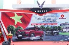 Nhà máy sản xuất ô tô VinFast chính thức đi vào hoạt động