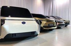 Toyota trình làng dàn 'siêu mẫu' xe điện đẹp ngất ngây