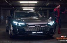 Audi e-tron GT sánh đôi với Spider-Man trong bộ phim bom tấn sắp công chiếu