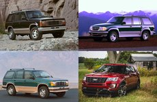 Lịch sử 30 năm của dòng xe Ford Explorer