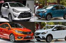 So sánh giá và trang bị của các mẫu xe hạng A tại Việt Nam