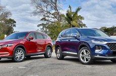 Nên chọn SUV 7 chỗ nào giữa Mazda CX-8 và Hyundai SantaFe?