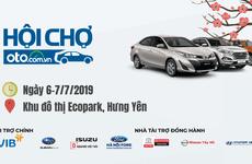 Hội chợ Oto.com.vn lớn nhất miền Bắc sẽ diễn ra trong 2 ngày 6-7/7/2019
