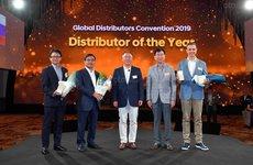 Hyundai Thành Công lần 3 liên tiếp nhận giải thưởng 'Nhà phân phối toàn cầu của năm'