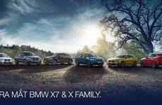 Chốt ngày ra mắt BMW X7 2019 và X Family tại Việt Nam