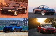 Lịch sử dòng xe Mazda MX-5 Miata - Xe thể thao mui trần ăn khách nhất thế giới có gì đặc biệt?
