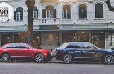 Bộ đôi Rolls-Royce Cullinan gần 100 tỷ xuất hiện trên phố thủ đô gây choáng ngợp