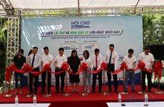 Sáng nay (6/7), Hội chợ Oto.com.vn lớn nhất miền Bắc chính thức khai mạc