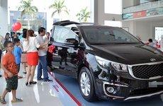 Lượng ô tô tiêu thụ trong tháng 6/2019 tăng nhẹ