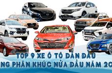 Điểm danh những cái tên dẫn đầu từng phân khúc ô tô tại Việt Nam 6 tháng đầu năm 2019