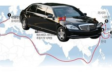 Mercedes Maybach S600 Guard đã đến Triều Tiên như thế nào trước lệnh trừng phạt của LHQ