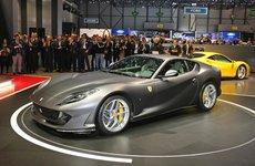Ferrari 812 Spider - Mẫu xe mui trần mới chốt lịch ra mắt trong tháng 9 tới