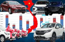 Những điểm nhấn đáng chú ý trên thị trường ô tô Việt nửa đầu năm 2019