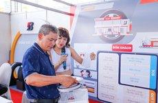 Trải nghiệm lốp Bridgestone tại Hội chợ Oto.com.vn: Êm ái và yên tĩnh vượt trội