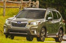 Giá lăn bánh xe Subaru Forester 2019