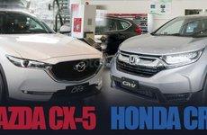 Mazda CX-5 thua Honda CR-V về doanh số, thắng về giá bán