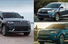 Doanh số phân khúc SUV cỡ vừa tại Mỹ 6 tháng đầu năm 2019