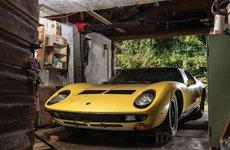Lamborghini Miura P400 S cũ bỏ xó trong nhà kho vẫn có giá 1,2 triệu USD