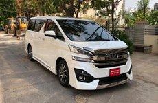 Toyota Vellfire - anh em của Toyota Alphard xuất hiện tại Ấn Độ