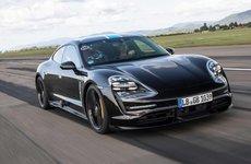 Ô tô điện Porsche Taycan ấn định ngày ra mắt 04/09 tới