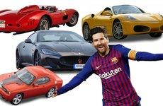 Bộ sưu tập xe đắt đỏ của cầu thủ đắt giá thế giới - Lionel Messi