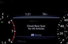 Tính năng giám sát hành khách ghế sau sắp trở thành trang bị bắt buộc trên xe hơi