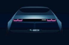 Hyundai 45 EV lộ hình ảnh teaser chuẩn bị cho Triển lãm Frankfurt 2019