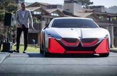 Tân binh BMW Vision M Next chạy điện ra mắt tại Mỹ, dự kiến sản xuất 2023