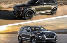 So sánh Kia Telluride và Hyundai Palisade 2020