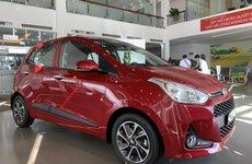 Doanh số bán hàng xe Hyundai Grand i10 tháng 1/2020