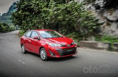 Doanh số bán hàng xe Toyota Vios tháng 1/2020