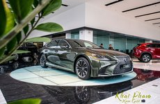 """Đánh giá xe Lexus LS 500h 2020: """"Sang - Xịn - Mịn"""" như lâu đài thu nhỏ"""