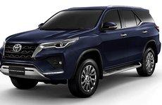 Toyota Fortuner 2021 facelift sắp trình làng Việt Nam?