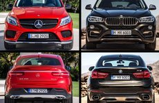 So sánh Mercedes GLE Coupe và BMW X6
