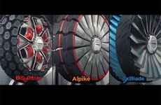 'Lốp xe biến hình' sẽ được giới thiệu tại triển lãm ô tô Essen 2014
