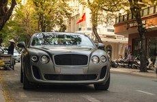 Ngắm siêu xe Bentley Continental Supersports Convertible nhanh nhất Việt Nam