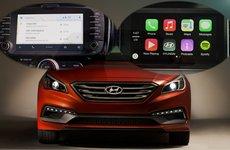 Hyundai giới thiệu công nghệ Apple CarPlay và Android Auto trên xe hơi